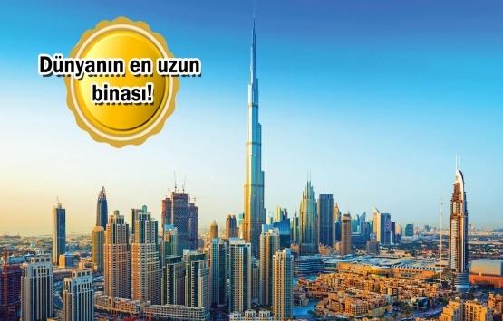 Burj Khalifa'nın gözlem kulesi satılıyor!