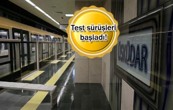 Üsküdar-Ümraniye-Çekmeköy Metro Hattı'nın ikinci etabı açılıyor!