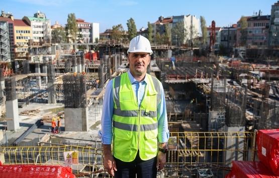 Yeni AKM'nin kaba inşaatının yüzde 60'ı tamam!