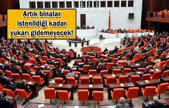 Meclis'in gündemi deprem ve imar!