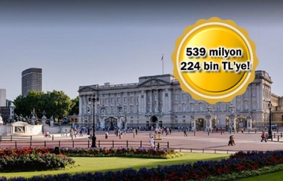 Buckingham Sarayı'na komşu