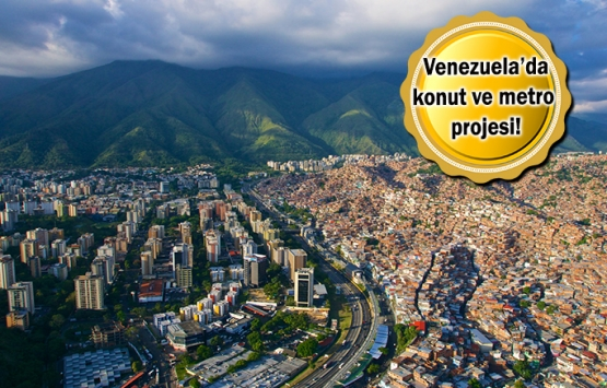 Türk inşaatçılar Venezuela pazarına girecek!