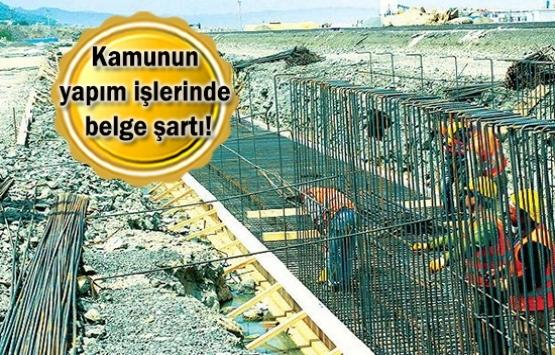 Belgesiz inşaat işçisi çalıştırılmayacak!