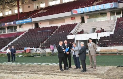 Hüseyin Avni Aker Stadı yıkılıyor!