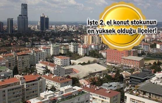 2. el konut stoku İstanbul'da 346 bin 705, Ankara'da 207 bin 595 adet!