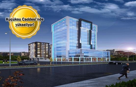 Tek Merve Plaza Sitesi'nde 450 bin liraya! Yeni proje!