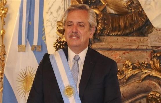 Arjantin Devlet Başkanı Fernandez'den deprem bölgesine 1800 konut sözü!