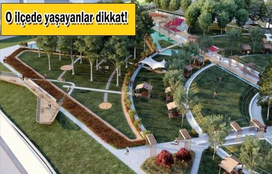 İstanbul'a yeni millet bahçesi müjdesi!
