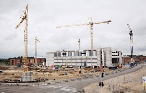 İzmir Torbalı'da inşaat