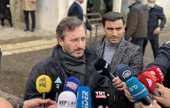 Fahrettin Altun'dan Karabağ'ın imarına ilişkin açıklama!