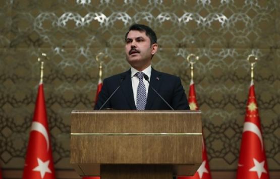 Murat Kurum: Yılda 100 bin konut inşa edeceğiz!