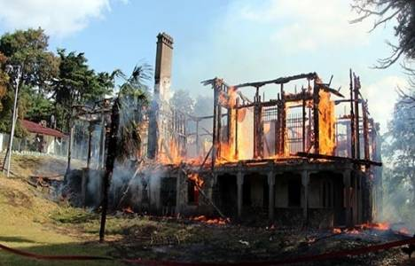 Hüseyin Avni Paşa Köşkü yangınına 'takipsizlik' kararı!