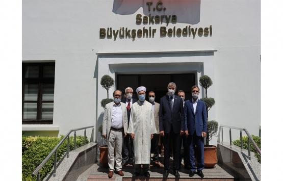 Sakarya Orhan Cami'deki restorasyon çalışmaları tamamlanıyor!
