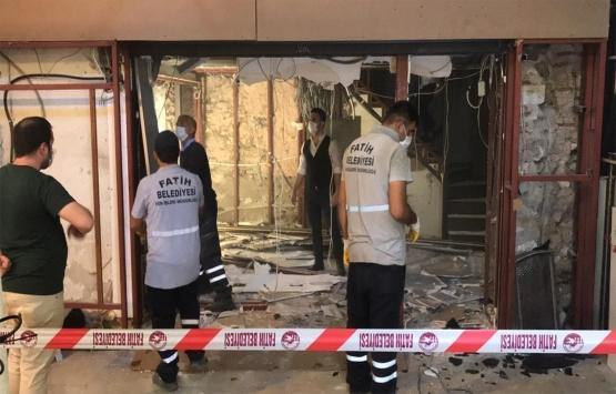 Kapalıçarşı'daki döviz bürosunda kaçak yapılar söküldü!