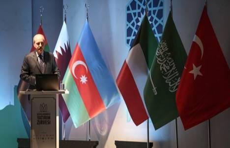 Uluslararası Yatırım Zirvesi'nde enerji, inşaat, ekonomik ve siyasi istikrar konuşuldu!