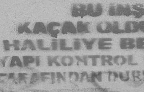 Şanlıurfa Haliliye'de kaçak yapılara önlem!