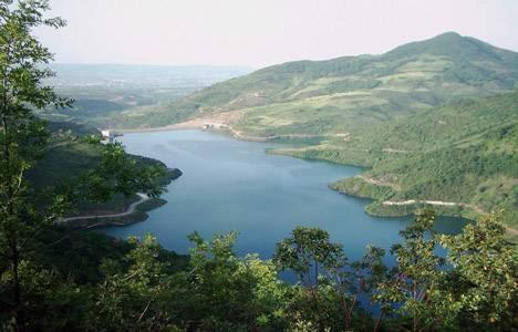 Kocaeli Yuvacık Barajı'ndaki