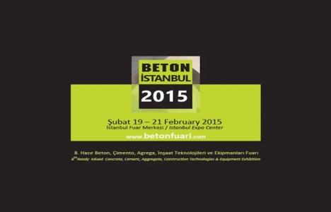 Beton İstanbul 2015 Fuarı 19-21 Şubat'ta!