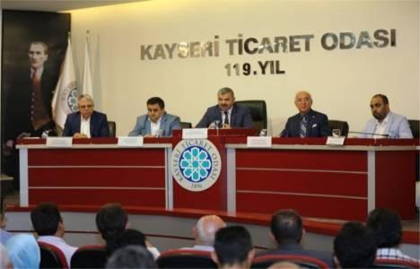 Kayseri'de inşaat sektörünün önünü açacağız!