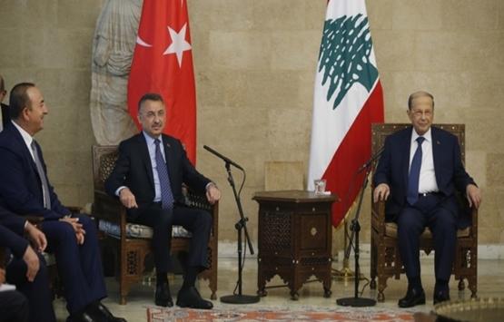 Fuat Oktay: Beyrut Limanı'nın inşası için Türkiye hazır!