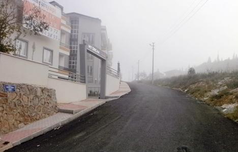 İzmit Orhan Mahallesi asfaltlandı!