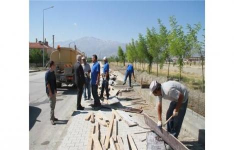 Erzincan Geçit Deresi rekreasyon projesinde çalışmalar başladı!