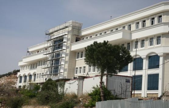 Bursa Orhangazi'deki Adliye Sarayı binası inşaatında son durum!