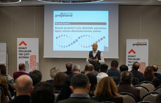 Ankaralı konut üreticilerinden 'Dijital pazarlama' seminerine yoğun ilgi!