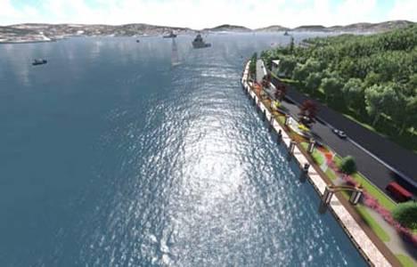 Çubuklu-Kanlıca sahil yolu 10 metre genişleyecek!