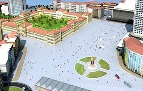 Taksim Yayalaştırma projesinin