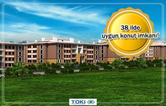 TOKİ'den 251 TL taksitle ev alma fırsatı!