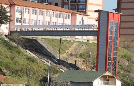 Karabük Belediyesi'nden Esentepe Mahallesi'ne asansör atağı!