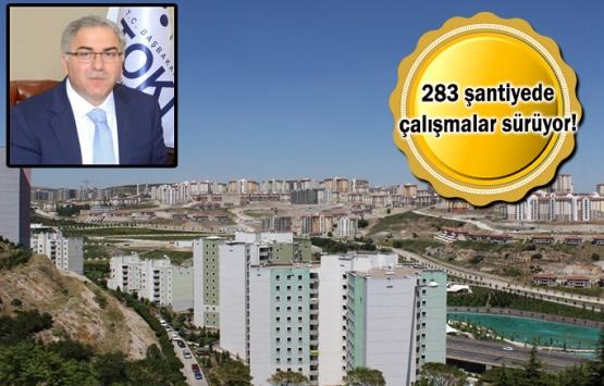 TOKİ'den Ankara'ya 94