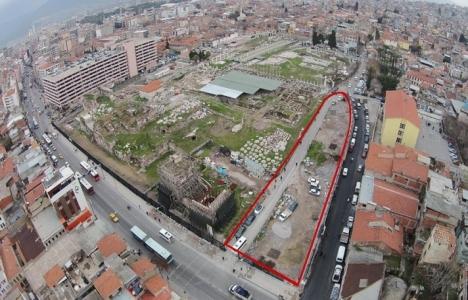 İzmir Agorası'nda kazı alanı biraz daha büyütüldü!