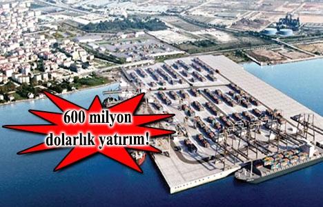 Kocaeli Dubai Port Limanı'nın açılışı Cuma günü yapılacak!