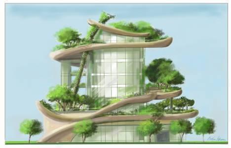 Yeşil binalar, inşaatın
