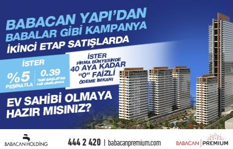 Babacan Premium Tower'da yüzde 5 peşinat fırsatı devam ediyor!