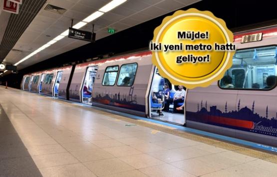 Yenikapı-Beylikdüzü ile Vezneciler-Arnavutköy metrosu ihaleye çıkıyor!