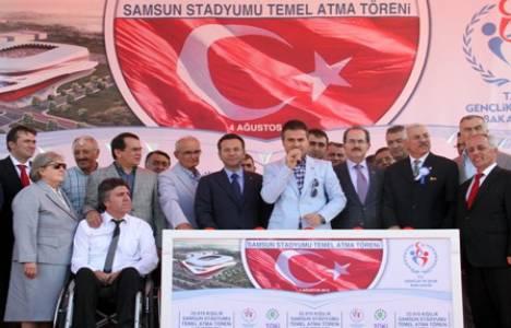 Yeni Samsun 19 Mayıs Stadyumu'nun temeli atıldı!