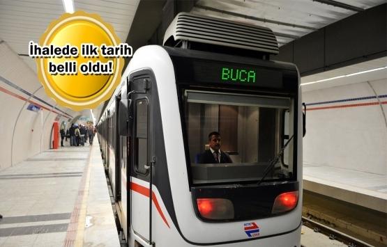 İzmir Buca Metrosu'nda çalışmalar başlıyor!