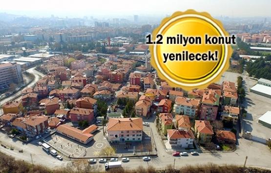 Kentsel dönüşümle 900 milyar liralık hacim oluşacak!