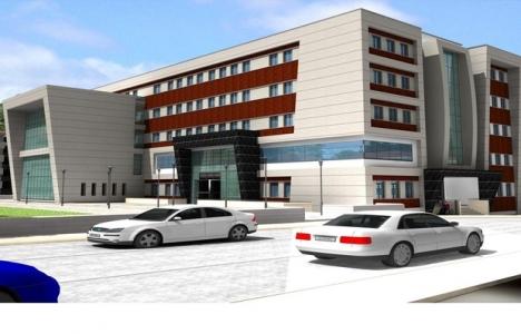 Burdur Gıda Tarım ve Hayvancılık İl Müdürlüğü binası tamamlanıyor!