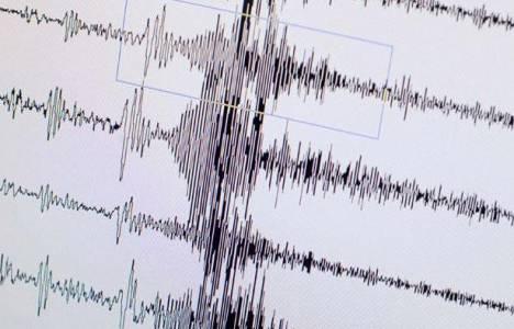Erzincan'da deprem meydana