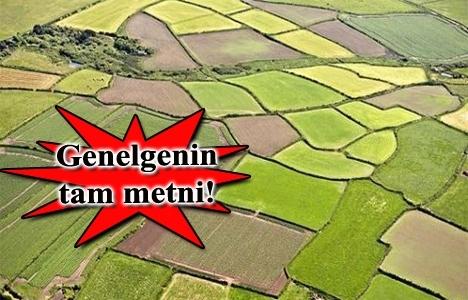 Tarım arazilerinin miras