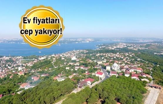 Beykoz'da konutlar üst gelir seviyesine hitap ediyor!