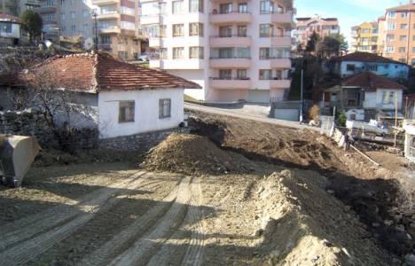 Ankara Çankaya'da yol
