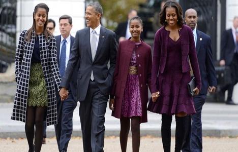 Obama ailesi yeni