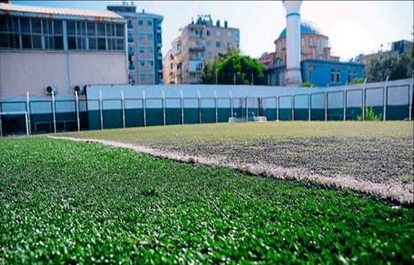 Bornova stadı zemin