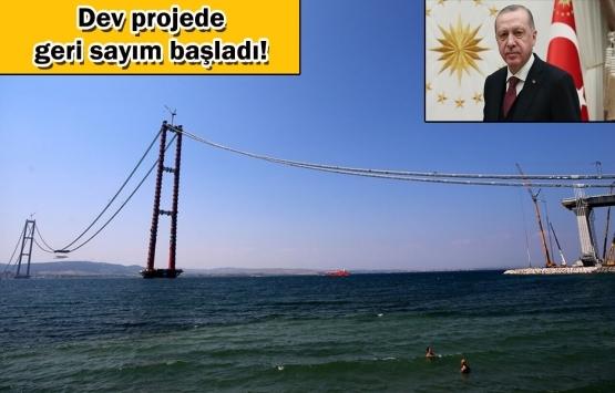 1915 Çanakkale Köprüsü'nde son kaynağı Cumhurbaşkanı Erdoğan yapacak!
