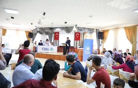 Ankara Nallıhan'da 173 konutun hak sahipleri belirlendi!